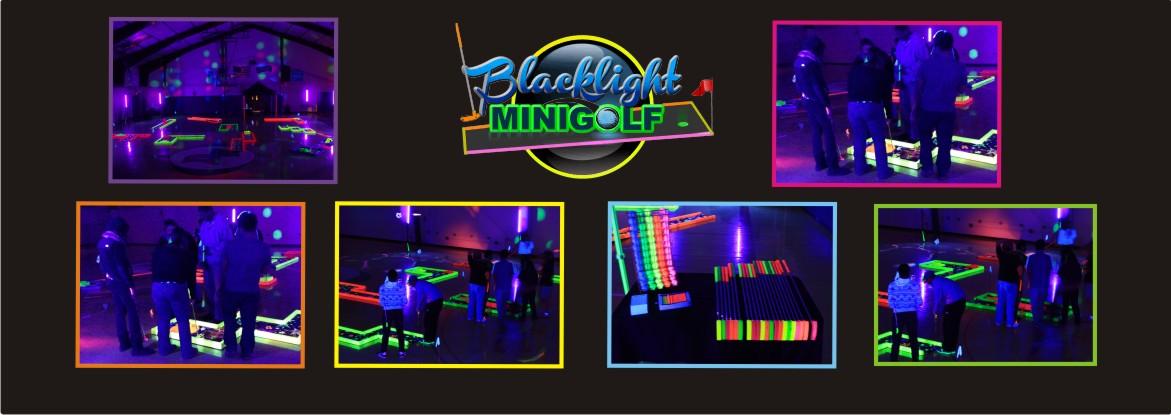 Blacklight Mini Golf