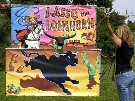 lasso-longhorn