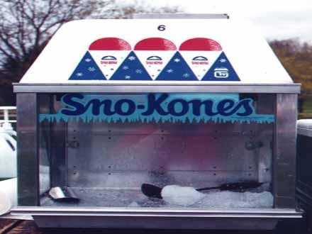 sno-cones