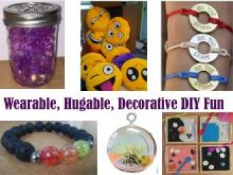 Wearable, Hugable, Decorative DIY Fun